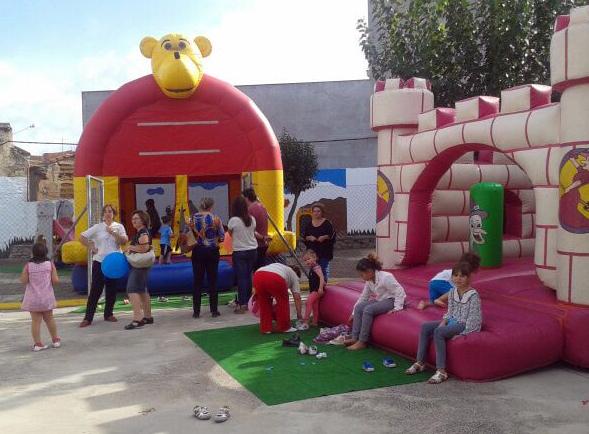 La Ampa organizó la Fiesta de bienvenida al cole