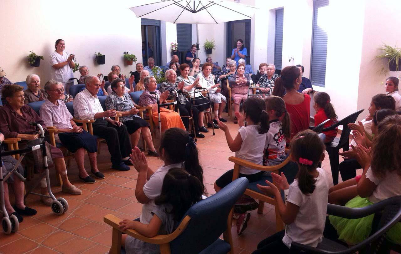 La Residencia de Mayores celebra el Día del Mayor