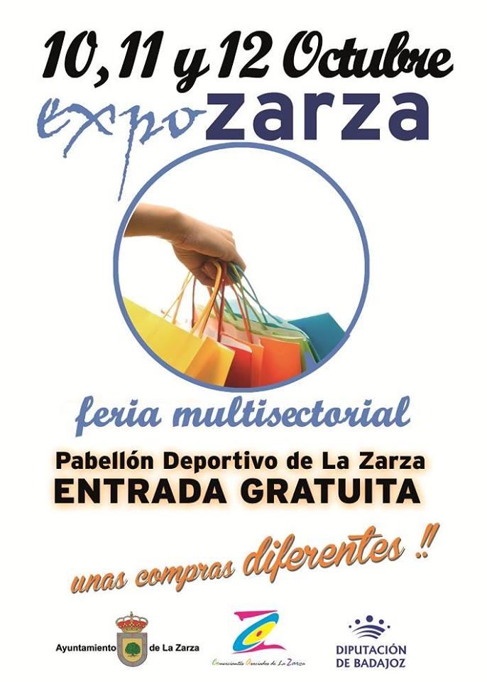 La VI edición de la EXPOZARZA tendrá lugar los días 10, 11 y 12 de octubre