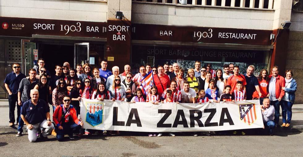 Ultras del Sevilla agreden a la Peña Atlética La Zarza