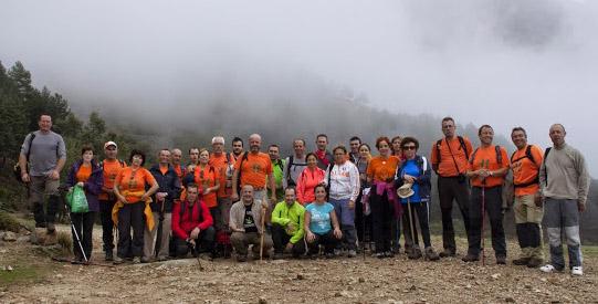 El Club de Senderismo hace en Hervás la ruta Pista Heidi