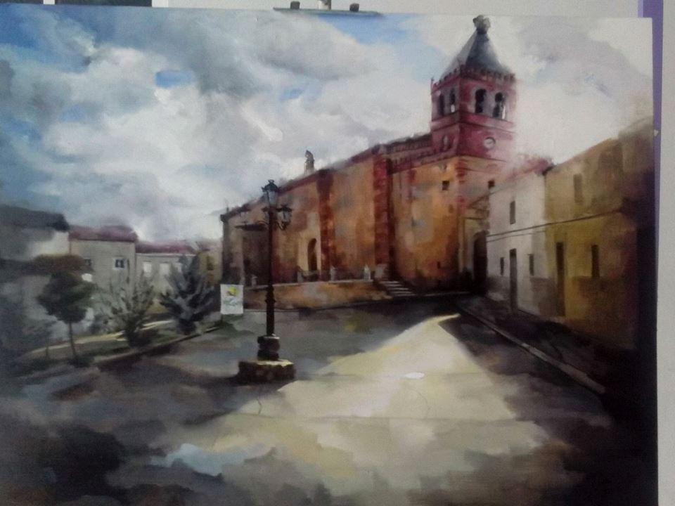 Zararte celebró el I Certamen de Pintura al Aire Libre