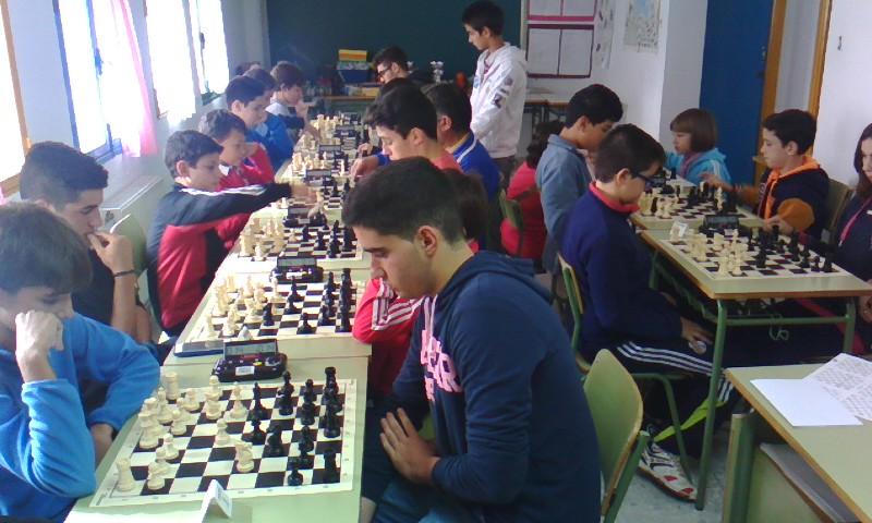 Buen nivel en el Torneo de Ajedrez organizado por la Escuela Municipal