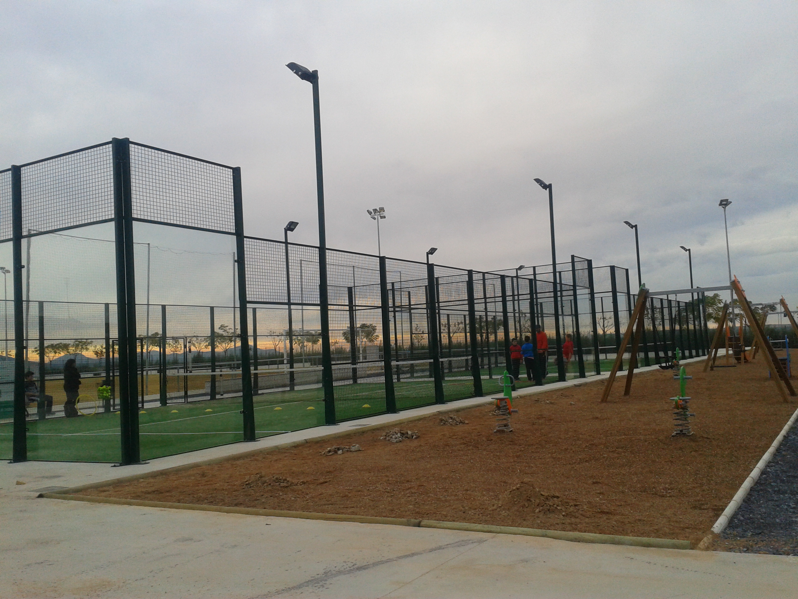 La Ciudad Deportiva se inaugura el próximo fin de semana