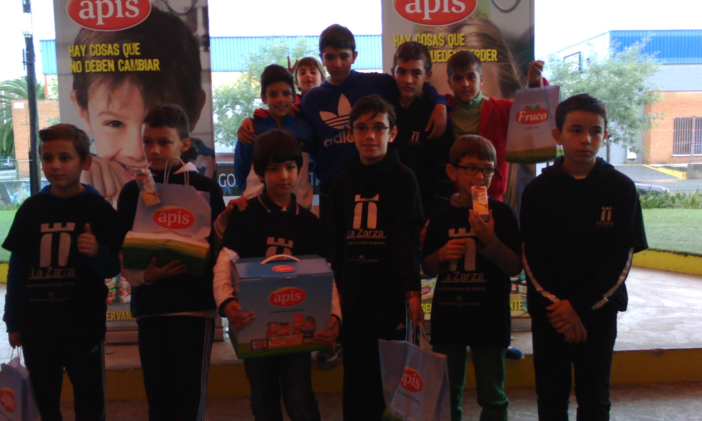 Los ajedrecistas zarceños destacan en Mérida